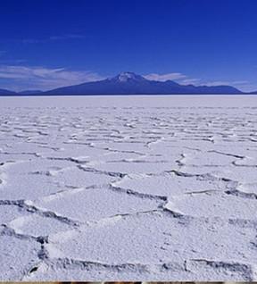 Le Salar d'Uyuni en Bolivie