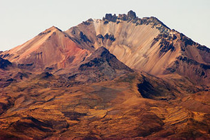 san pedro volcan Tunupa salar d'uyuni Bolivie