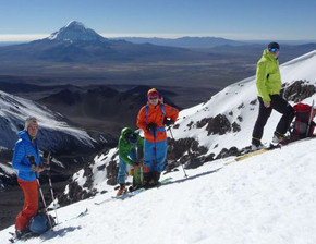 ascension volcan Acotango
