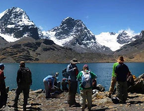 trekking Andes en Bolivie
