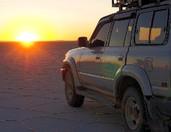 4x4 salar et Andes Altiplano