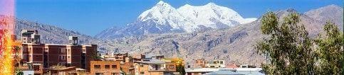 Les villes de bolivie