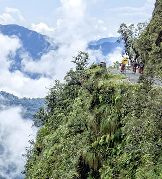Route mort bolivie