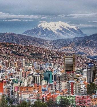 La ville de La Paz