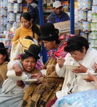 le marché de La Paz