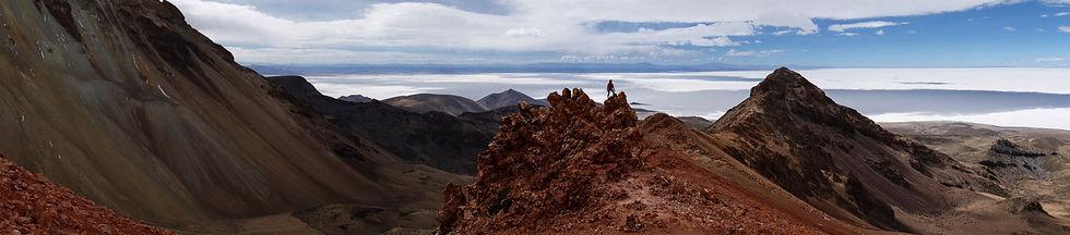 salar d'Uyuni et volcan Tunupa