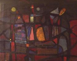 Composizione astratta (anos 1950)