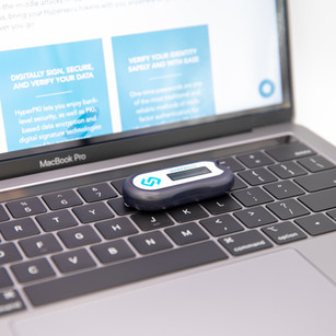 Use your HyperOTP anywhere with virtually any device.