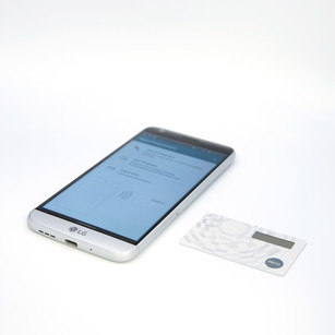 OTP becomes hassle-free with HyperOTP Edge's NFC compatibility.