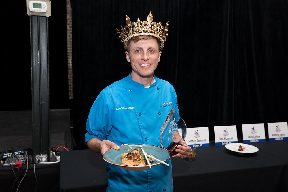 Chef David Dickensauge