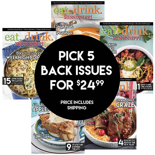 Pick 5 Back Issues