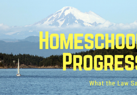 Homeschool Progress: What the Law Says