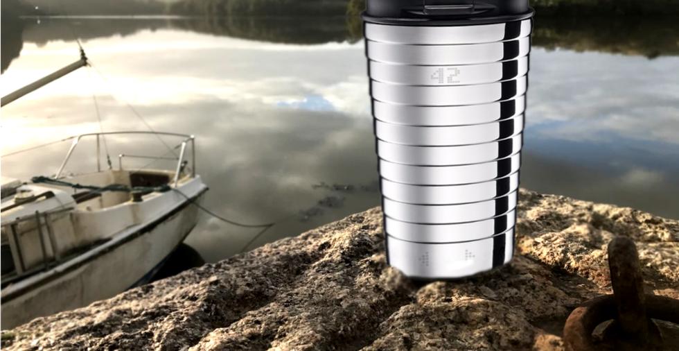 Smart Mug Go ama viajar