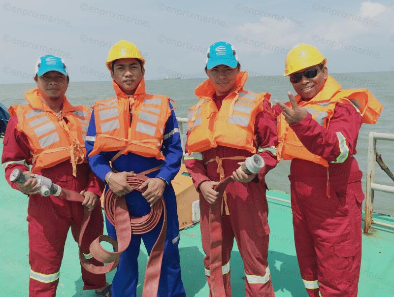 Disciplined crew-members