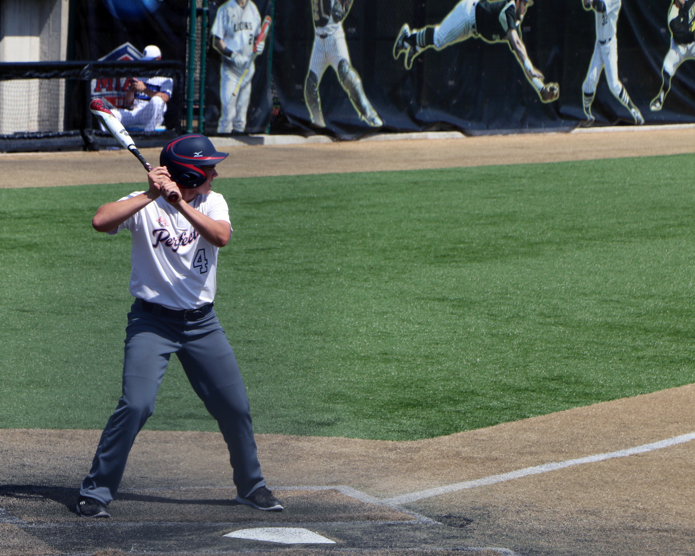 Beal at the plate