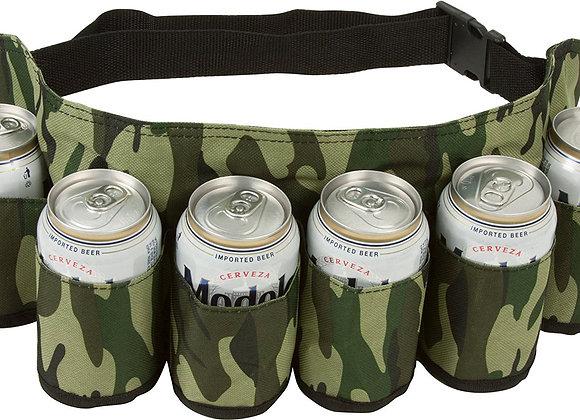 6-pack Beverage Hoslter - Camo Design