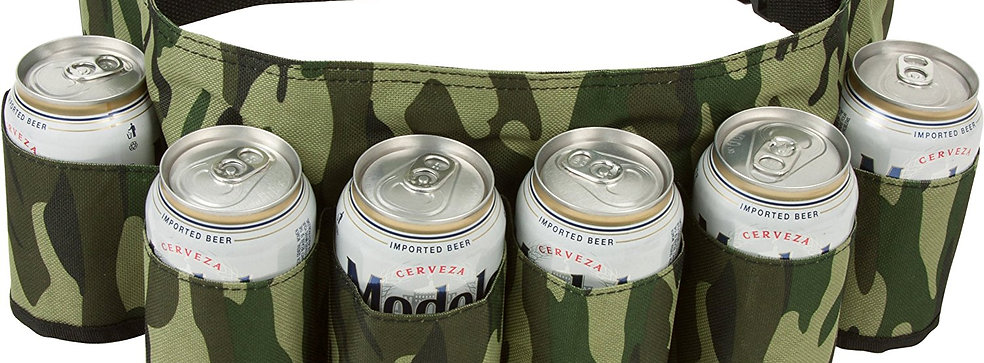 6-pack Beverage Hoslter - Camo Design
