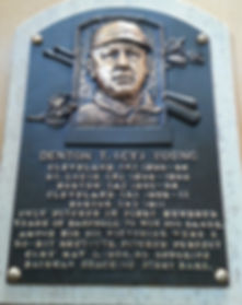 Hall of Fame Plaque in Cooperstown