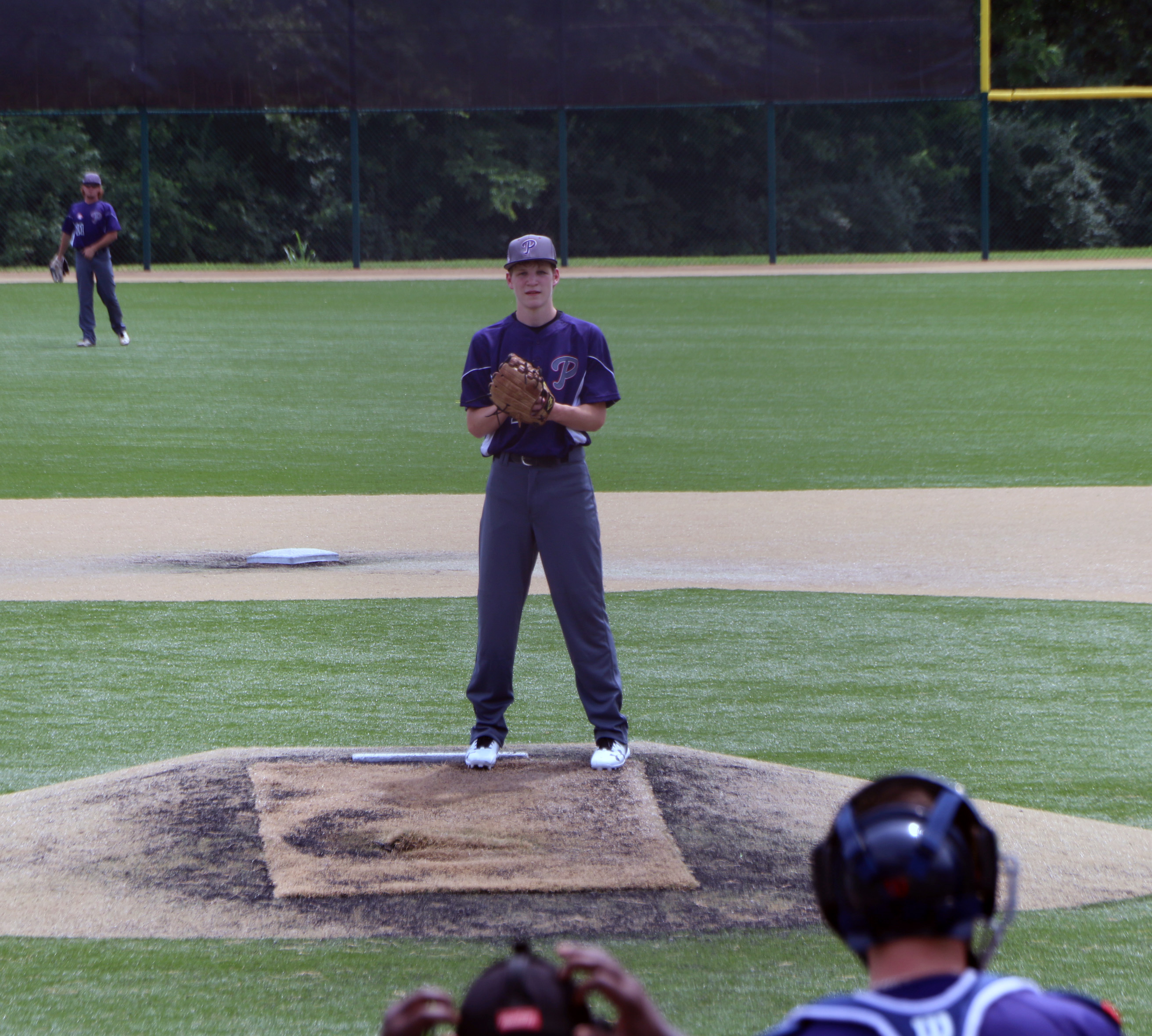 Heath on the mound