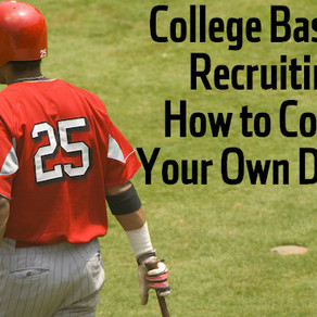 Great Article on How To Be Recruited for Baseball
