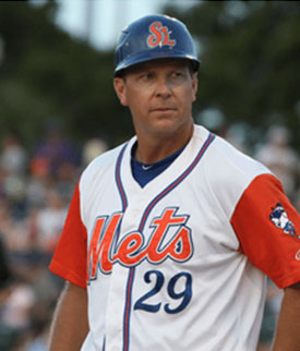 NY Mets Minor League Manager, Chad Kreuter, Joins Board