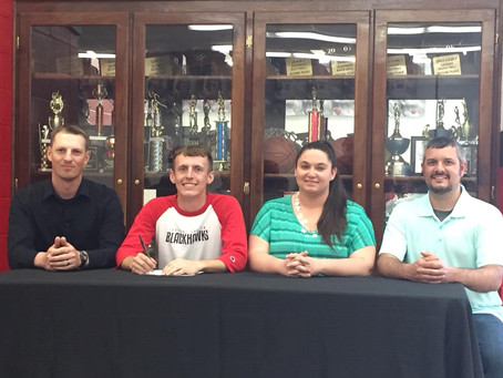 Huff Signs With Southeastern