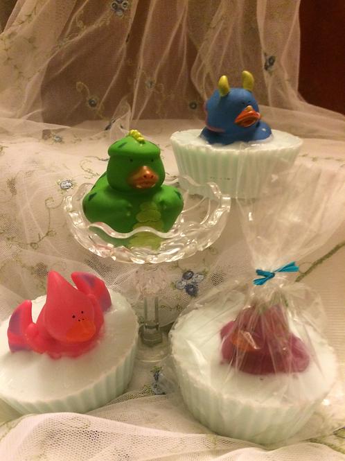 Dinosaur Ducky Soap