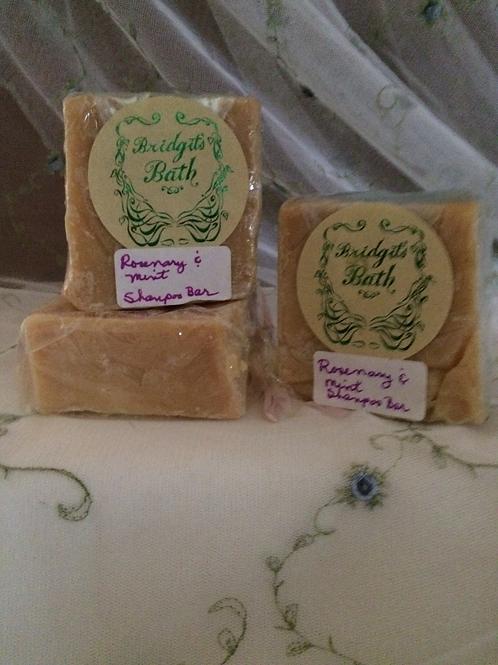 Rosemary Mint Shampoo Bath Soap