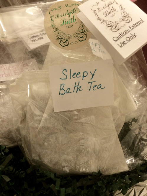 Sleepy Bath Tea