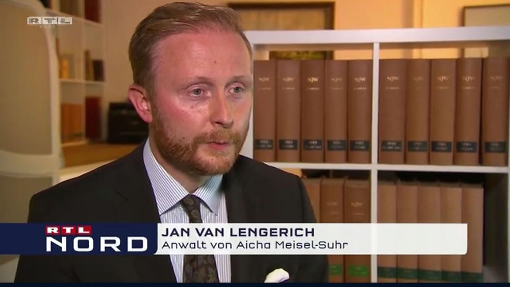 TV Bericht Polizeischüsse Bremen Dr. Jan van Lengerich