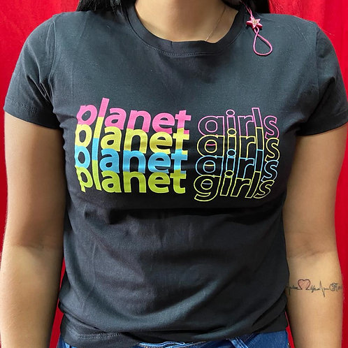 T-SHIRT PLANET GIRLS