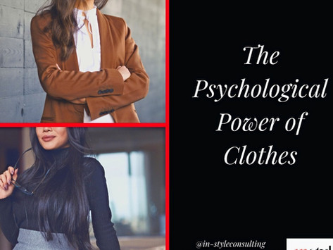 The Psychological Power of Clothes