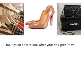 How to look after your Designer items.