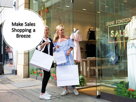 How to make Sales Shopping a Breeze
