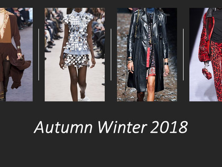 5 Key Womenswear trends to update your wardrobe for A/W 18