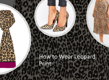 How to Wear Leopard, the Print of the Season