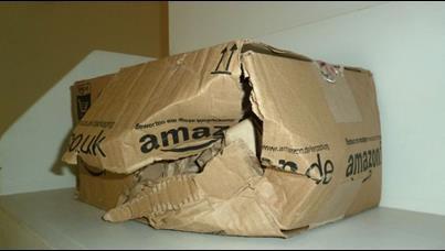 damaged box
