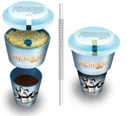 """""""Pinguins of Madagascar"""" Snack & Go"""