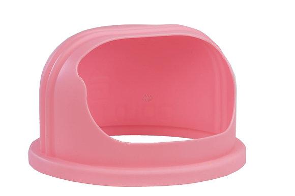 Cukurvates aparāta vāks | rozā