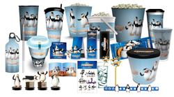 """Pinguins of Madagascar"" iepakojumi"