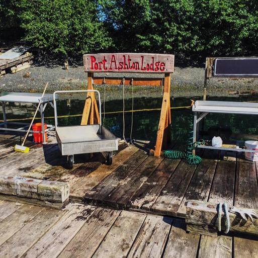 Port Ashton Lodge Ready for Fishers