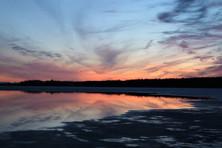 Sunset at Port Ashton Lodge