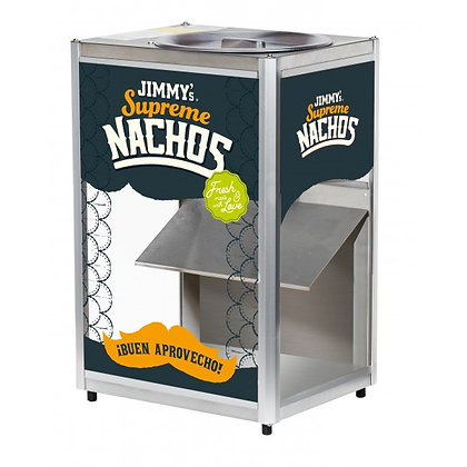 Nacho čipsu sildītājs