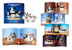 """Pinguins of Madagascar"" uzlīmes"