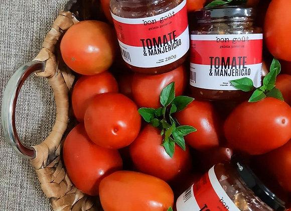 Geleia Gourmet de tomate com manjericão
