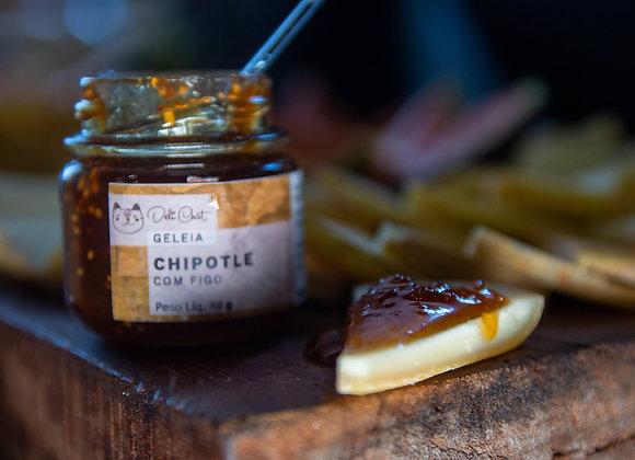 Geleia de pimenta Chipotle com Figo
