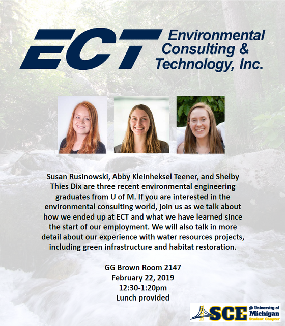 ECT in ASCE Speaker Series this Friday!