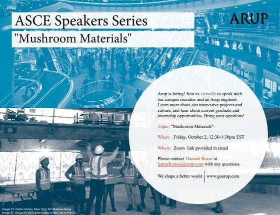 ARUP @ Speaker Series 2020 - 10/02 12:30pm