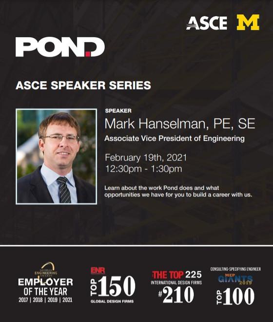 Pond & Company @ Speaker Series 2021 - 02/19, 12:30pm
