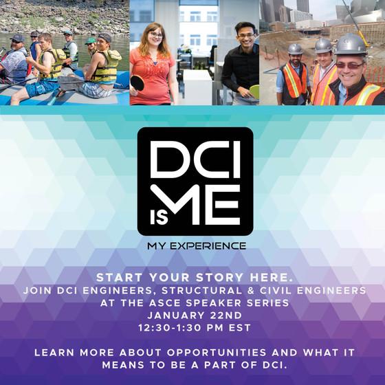 DCI Engineers @ Speaker Series 2021 - 01/22, 12:30pm